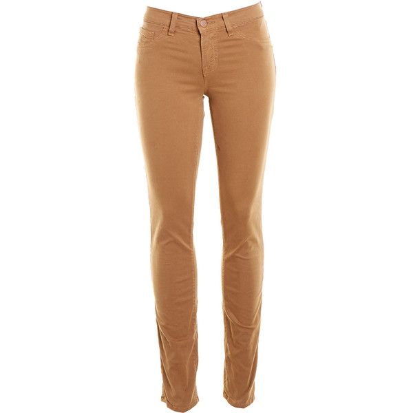 Pre-owned Women's J Brand Tan Jeans (529.815 IDR) ❤ liked on Polyvore featuring jeans, pants, bottoms, trousers, tan, tan jeans, j brand jeans, j brand and beige jeans
