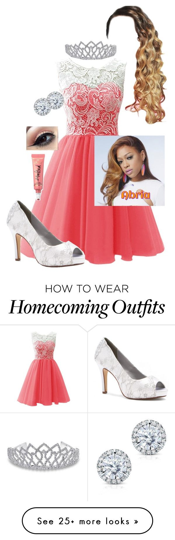 """Bri @ Prom☄"" by itsdejjj on Polyvore featuring Dyeables, Kobelli, Bling Jewelry, Too Faced Cosmetics, DejasWattpad and DejasProm"