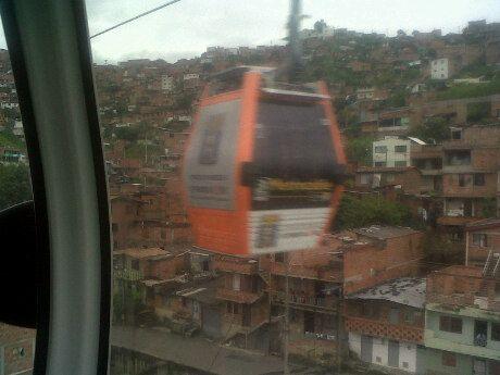Metrocable Línea J - Estación Vallejuelos in Medellín, Antioquia