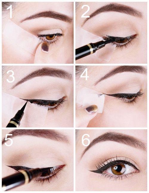 Fabulous Les 25 meilleures idées de la catégorie Trait eye liner sur  OP98