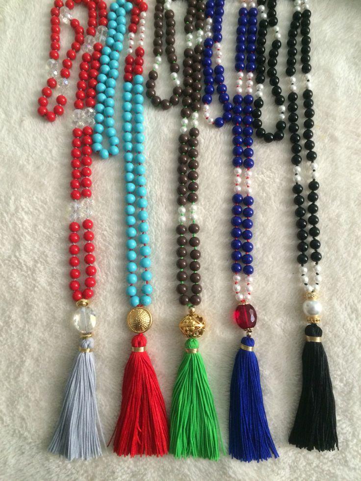 Collares Anudados en hilo de seda de venta en Venus 3155467558