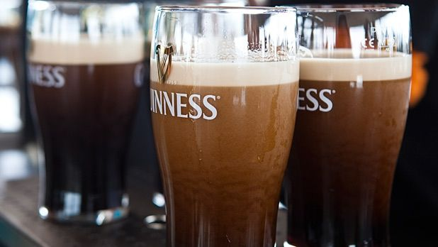 Surely a beer so dark and creamy must be thicker and more caloric than the bright yellow beers on offer at the bar.In reality Guinness is usually the lowest...