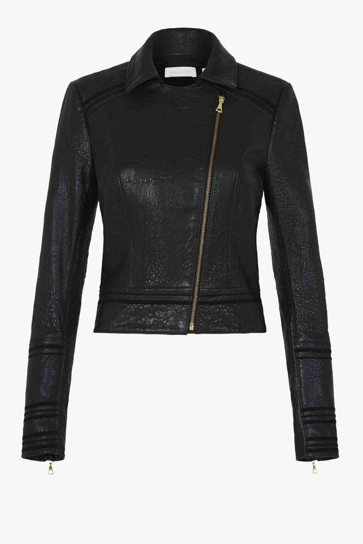 JUPITER RISING | Black Leather Jacket | sass & bide