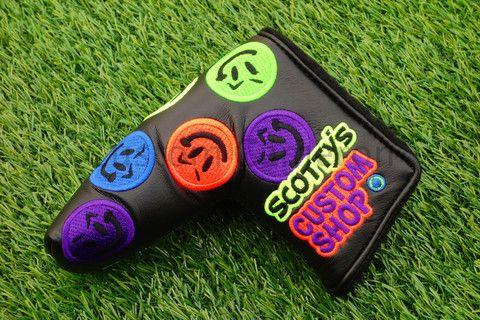 Scotty Cameron Custom Shop Dancing Neon Go Getter blade headcover