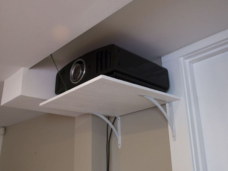 ceiling mount projector diy - Google Search