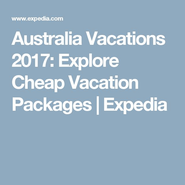 Australia Vacations 2017: Explore Cheap Vacation Packages | Expedia