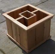 Planters To Go Around Posts | ... bench set by putting lids customer wanted a box to go around each post