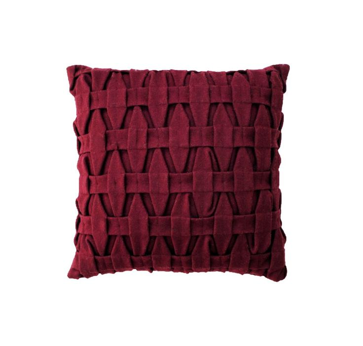 The product NYHED - LIVINK - Braid pillow - Bordeaux is sold by LIVINK in our Tictail store.  Tictail lets you create a beautiful online store for free - tictail.com
