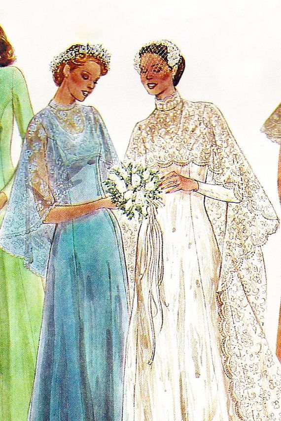 Lace Evening Dresses 1970s