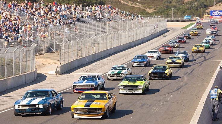 A time machine to a cooler automotive era - Vintage Trans Am Series racing