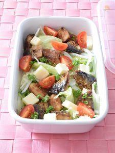 イワシのバルサミコサラダ 作り置きレシピ イタリアンの前菜