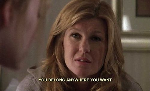Never let someone else dictate your decisions. | 19 Pieces Of Advice From Tami Taylor That Will Make You A Better Person