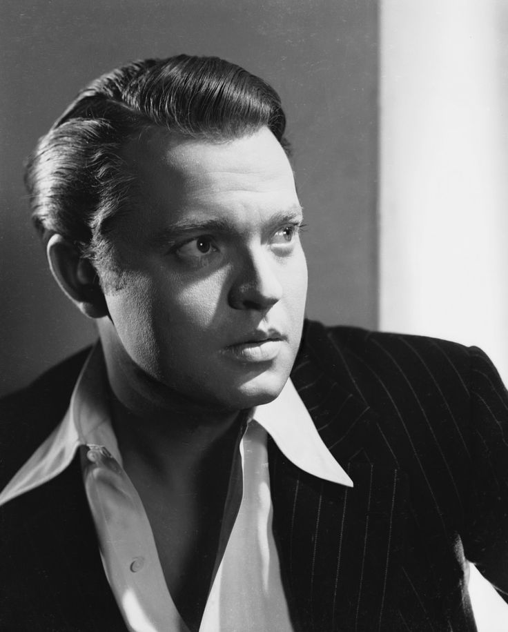Happy 100th birthday, Orson Welles. (b. 6 May 1915)