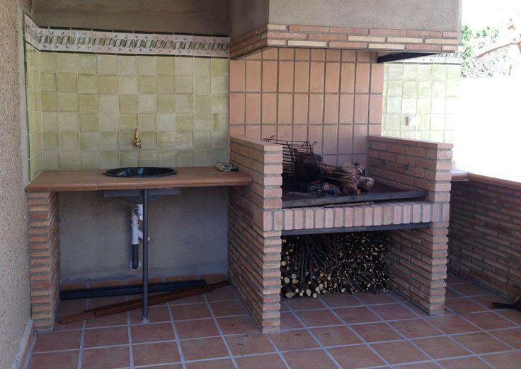 Barbacoa con base de la colecci n monocolor hierba y for Decoracion jardin barbacoa