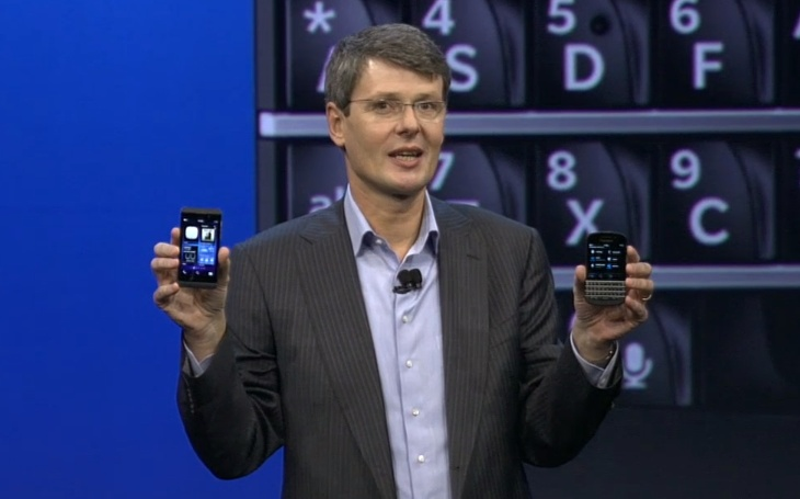 Thorsten Heins Fires Shot at Apple and Microsoft as BlackBerry Aims to Compete With Cupertino and Redmond on All Fronts
