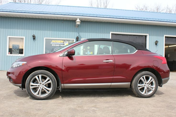 The 2011 Nissan Murano CrossCabriolet is a large car that succeeds at being a comfortable convertible.