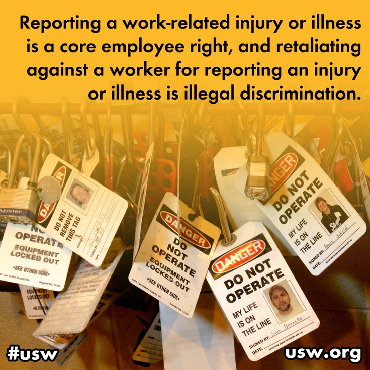 #JOBSAFETY: The USW welcomed the release of a new Government Accountability Office (GAO) report that underscores the pervasive nature of employer policies, programs and practices that discourage workers from reporting job injuries and illnesses and outlines actions that the Occupational Safety and Health Administration (OSHA) should take to address these practices.  Read the story here: http://ow.ly/aPFf8