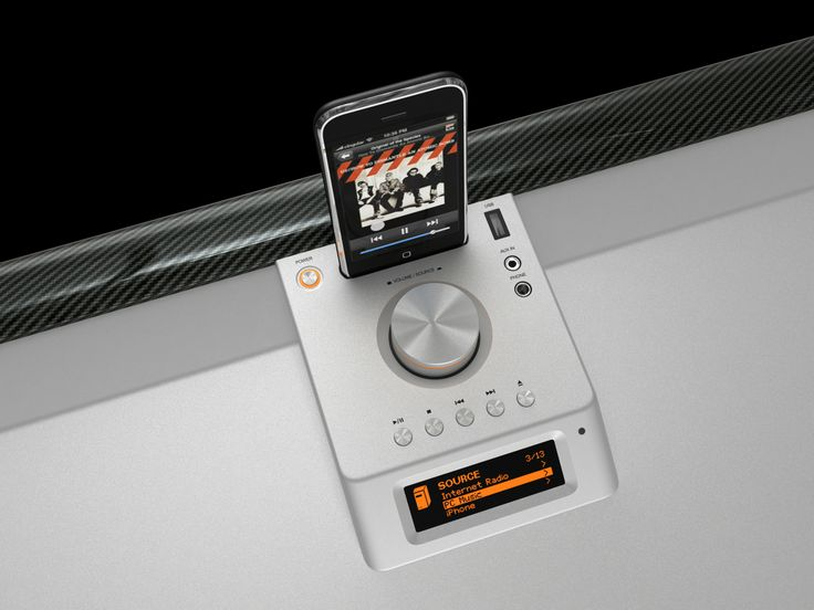 music box #carbon (docking station)