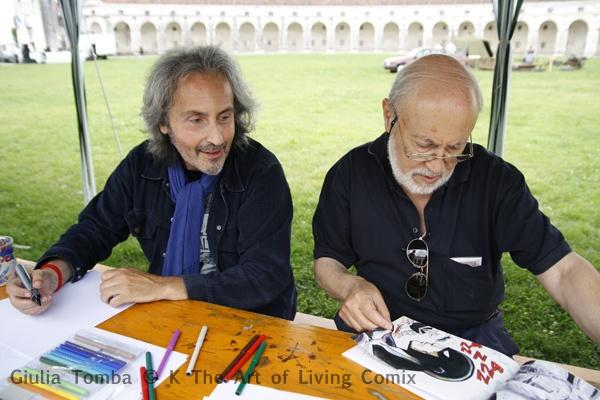Due giganti del fumetto italiano a Kcomixfest: Stefano Babini e Gigi Marcianò