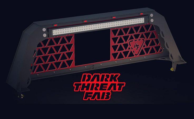 #sweet cab flush #rack with provisions to mount over a Rollbak #bedcover rendered for a customer! Call us at 1-501-206-8079 or email us at sales@darkthreatfab.com to get your project started! ⬇⬇⬇⬇⬇⬇⬇⬇⬇⬇⬇ WWW.DARKTHREATFAB.COM #love #headacherack #bumper  #bigtruck #bigrig #ram #steps #dodge #ford #f150 #f250 #f350 #f450 #chevy #gmc #cummins #duramax #sema #sema2017 #exhaust #lifted #exhauststacks #stacks #dumptruck #darkthreatfab