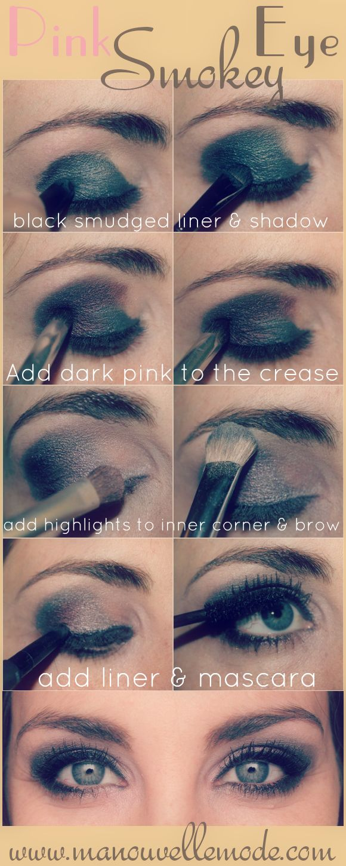 Pink Smokey Eye Tutorial