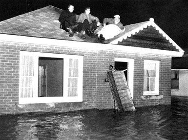 Hurricane Hazel,1954,Toronto,Ontario,Canada