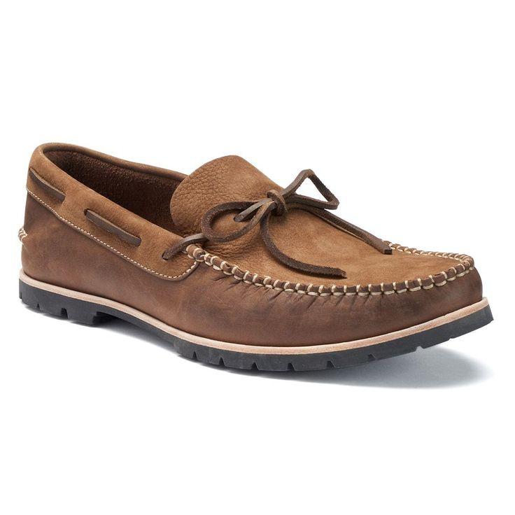 Woolrich Lake House Men's Slip-On Boat Shoes, Size: medium (10), Med Brown