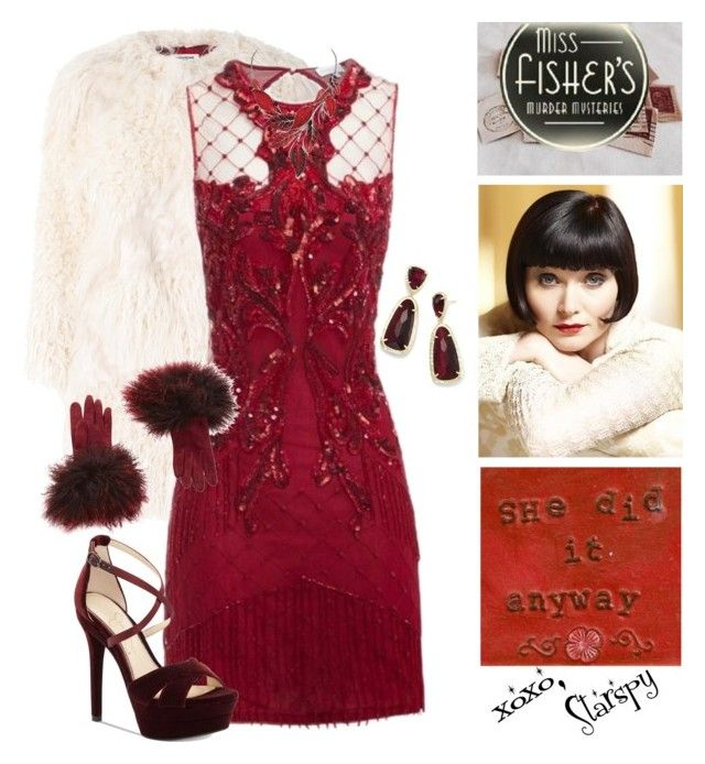"""""""Miss Fisher"""" by starspy ❤ liked on Polyvore featuring Episode, Zadig & Voltaire, Jessica Simpson, Loewe and Kendra Scott"""