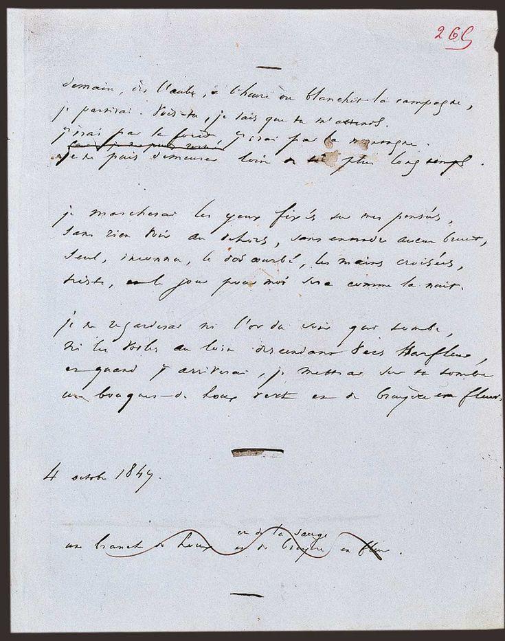 Demain, dès l'aube, à l'heure où blanchit la campagne…, ou plus simplement Demain, dès l'aube…, est l'un des plus célèbres poèmes de Victor Hugo, publié en 1856 dans le recueil Les Contemplations.  Manuscrit du poème.