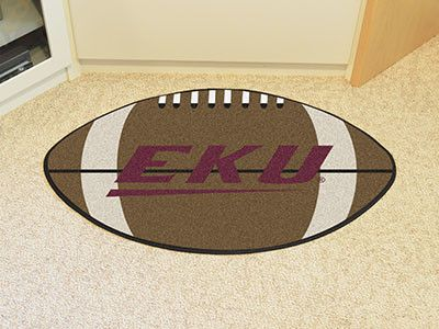 "Eastern Kentucky Football Rug 20.5""x32.5"""