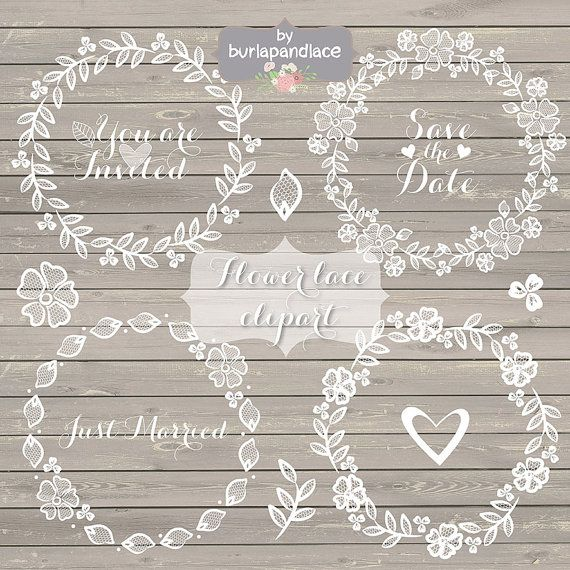 Hey, I found this really awesome Etsy listing at https://www.etsy.com/listing/187256592/rustic-wedding-clipart-lace-clipart-hand