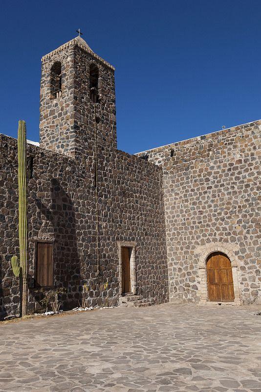 Misión de Santa Rosalía de Mulegé, Baja California Sur, Mexico