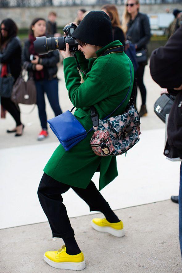 Photographers, Paris
