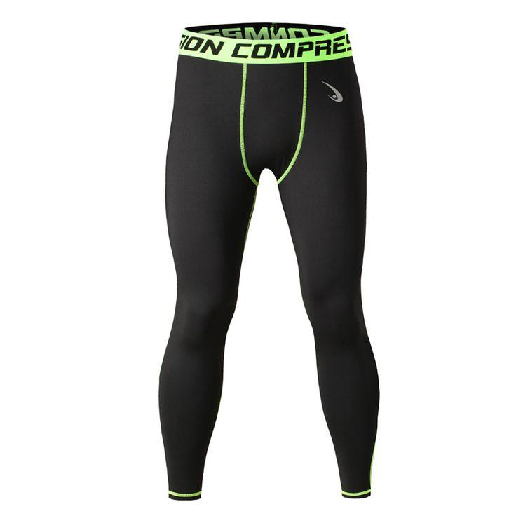 Men's Compression Pants Leggings Coolmax Quick Dry