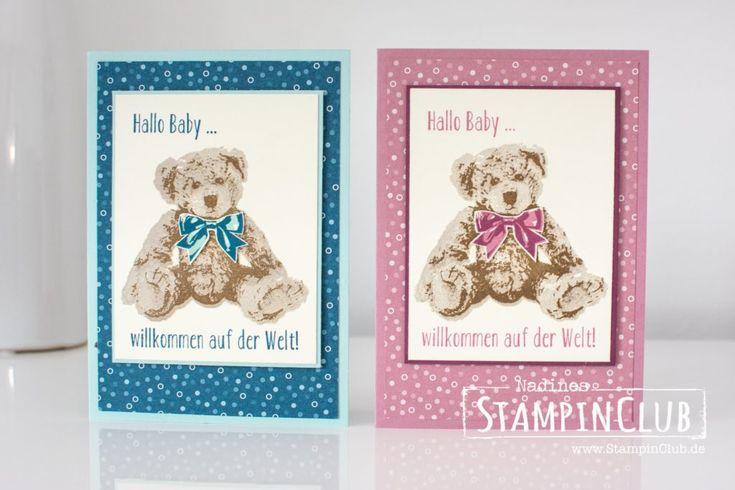 StampinClub, Stampin' Up!, Unentbärliche Grüße, Baby Bear