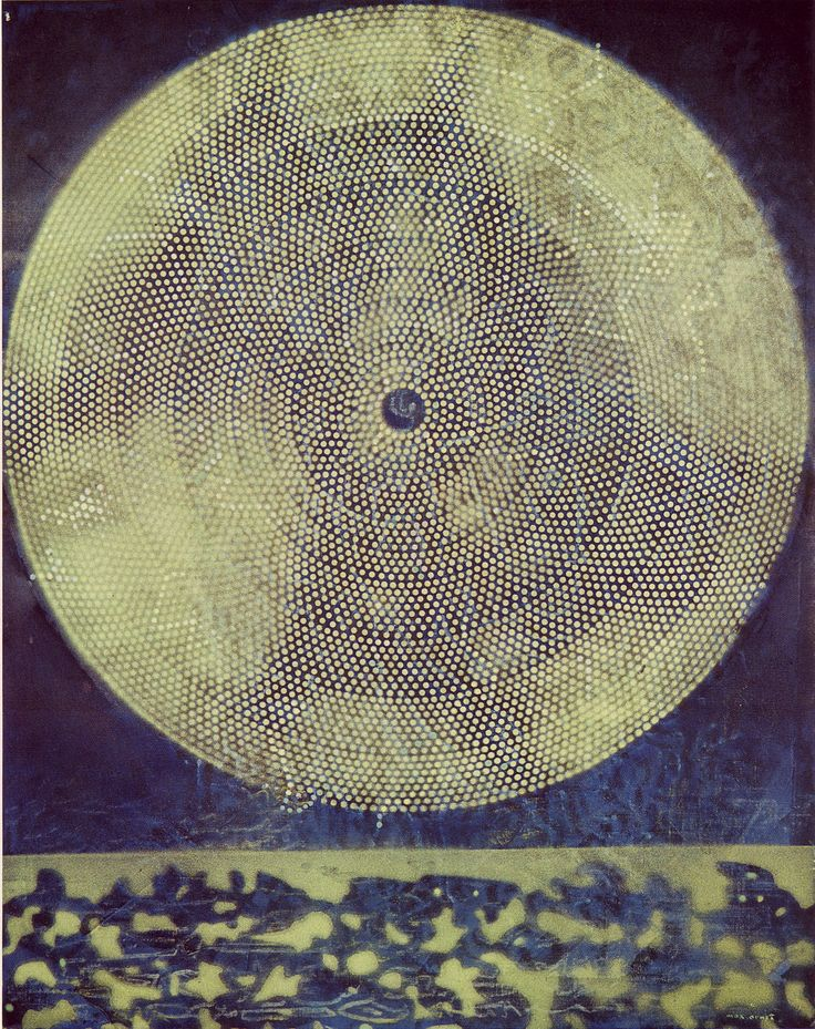 'Birth of a Galaxy' by Max Ernst, oil-on-canvas, 1969.