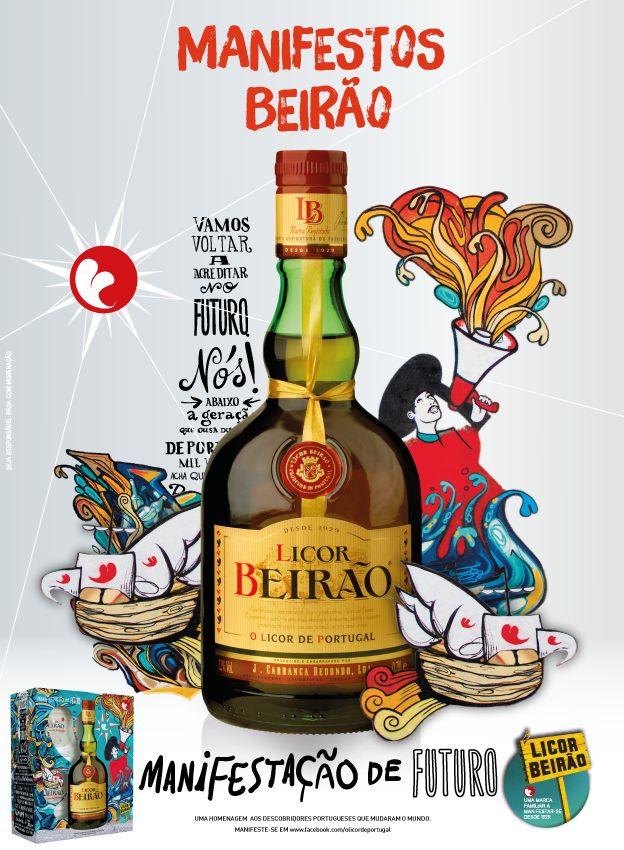 Licor Beirão - Manifestação de Futuro