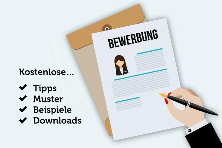 Bewerbungsschreiben Vorlagen Muster kostenlos Beispiele Tipps kostenlos Anschreiben