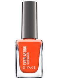 """ОРАНЖЕВЫЙ Это летний красный – чуть более легкомысленный. Как и все мы летом. Divage, лак для ногтей """"Divage nail polish everlasting"""", тон 11, 176 руб."""