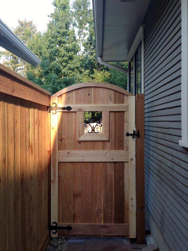 Best 25 Backyard Gates Ideas On Pinterest Building A