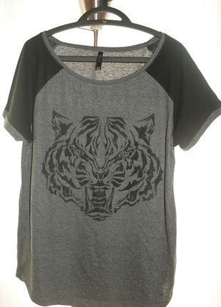 Kup mój przedmiot na #vintedpl http://www.vinted.pl/damska-odziez/koszulki-z-krotkim-rekawem-t-shirty/10504794-koszulka-z-nadrukiem-tygrysa-sinsay