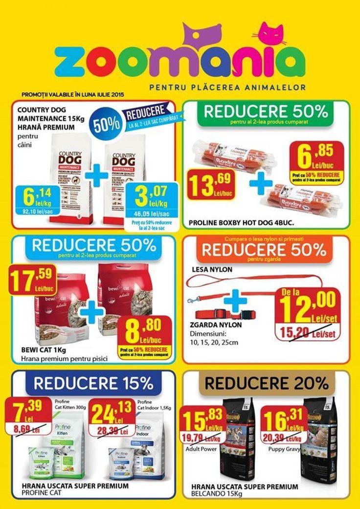POC Oferte Supermarket online | ZOOMANIA -Iulie 2015