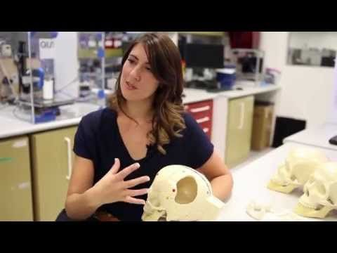 Associate Professor Mia Woodruff and her team at the Institute of Health and Biomedical Innovation, QUT are working towards making 3D printed body parts available to everyone.   #innovation
