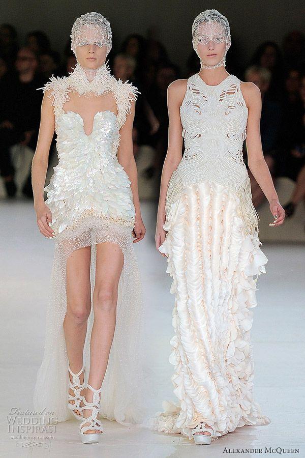 alexander mcqueen | Alexander McQueen Spring 2012 Ready-to-Wear