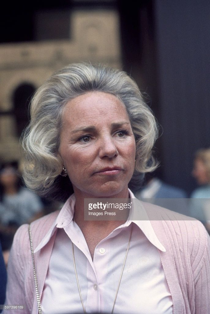 Ethel Kennedy circa 1979 in New York City.
