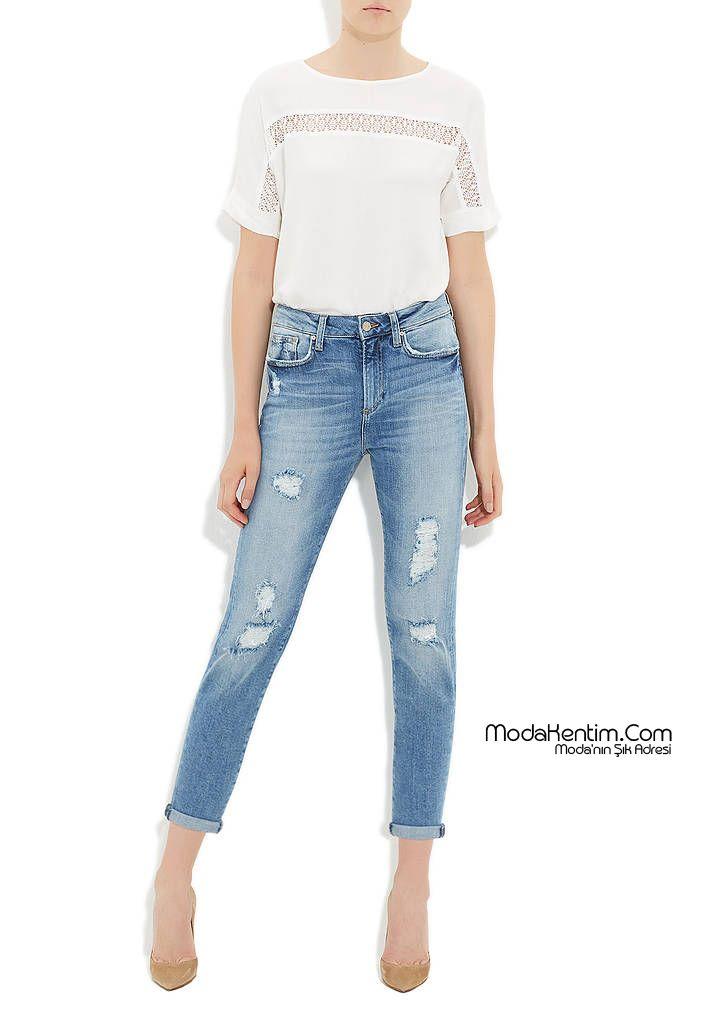 Mavi Jean Pantolon Modelleri