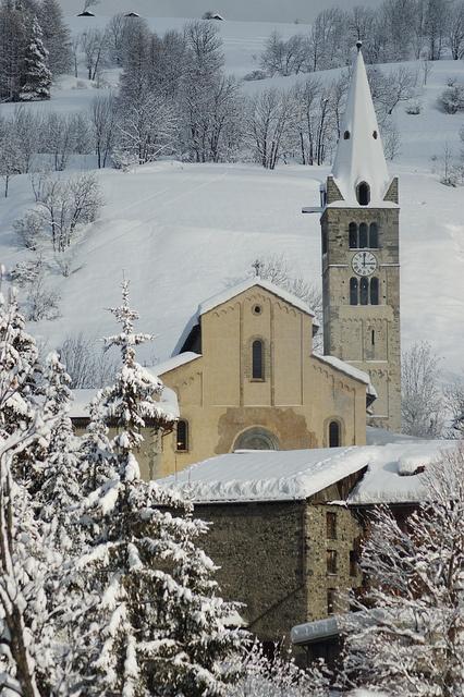 Chiesa a Cesana Torinese, Valle di Susa Piemonte