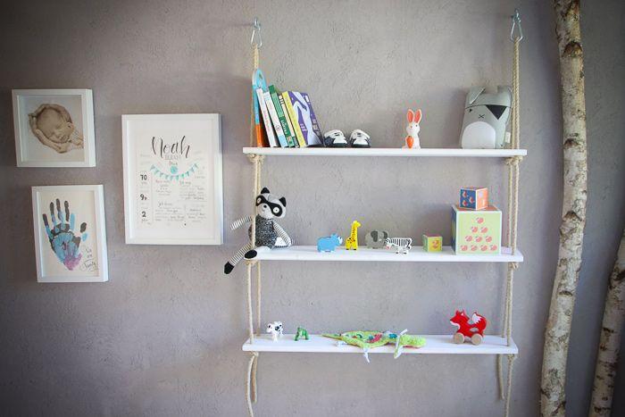 DIY Seilregal fürs Kinderzimmer! | Tipps zum Selbermachen | simply hyggelicious – Damaris Schmitges