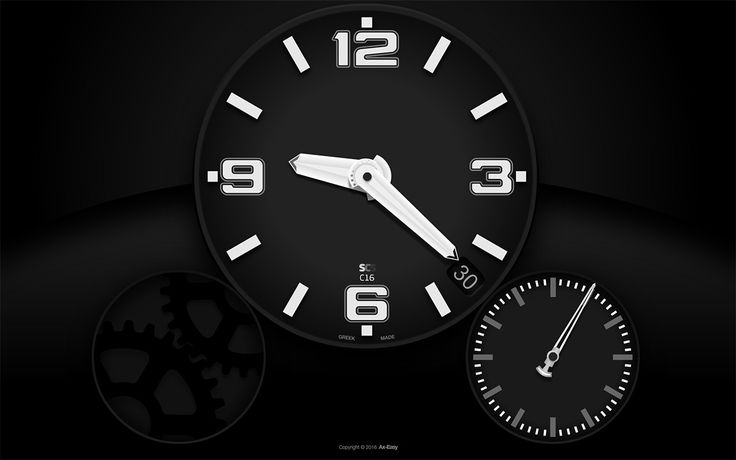 C16 – Chronic (Win Edition) | Screen Clock Saver - Mac & Windows Screensavers – don't loose time anymore™