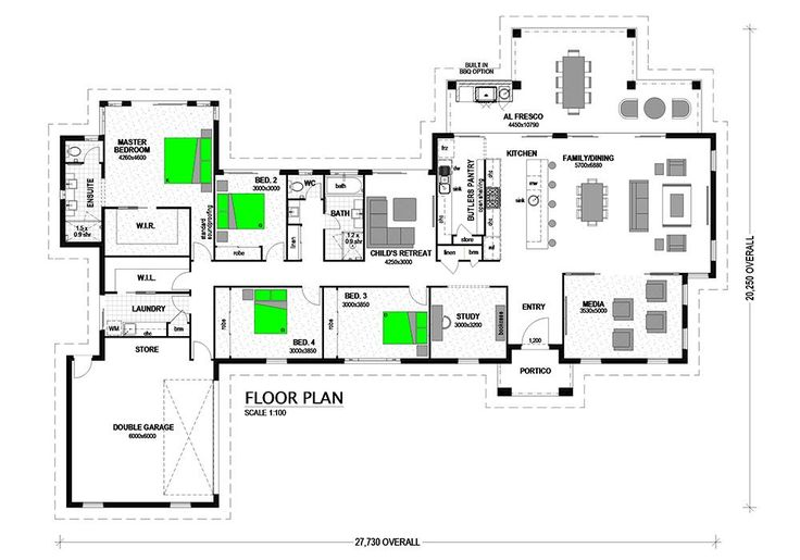 Montego 329 Acreage Home Design | Stroud Homes